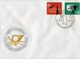 DDR - 25 10 1961 FDC TAG DER BRIEFMARKE - FDC: Enveloppes