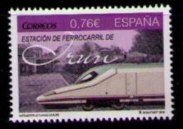 ESPAÑA 2014 - ESTACION DE IRUN - INFRAESTRUCTURAS CIVILES - EDIFIL Nº 4913 - 1931-Hoy: 2ª República - ... Juan Carlos I
