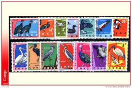 Congo 0481/94**  Oiseaux  MNH - République Du Congo (1960-64)