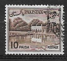 PAKISTAN   1962 Local Motives  Used     Shalimar Gardens - Briefmarken