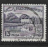 PAKISTAN   1962 Local Motives  Used     Shalimar Gardens - Sammlungen (im Alben)