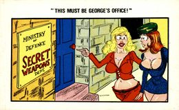 THIS MUST BE GEORGE'S OFFICE - Humor