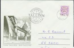 57-974 Estonia Tallinn Letter Week  10.10.1997 From Post Arrival Postmark - Estonie