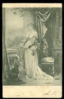 De Trompetter Van Saekkingen - Verlangen * CPA *  ANSICHTKAART * GELOPEN IN 1901 Lokaal Amsterdam * NVPH Nr. 51 (3906k) - Acteurs