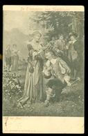 De Trompetter Van Saekkingen - Bij Het MEER * CPA * ANSICHTKAART * GELOPEN IN 1901 Lokaal Amsterdam * NVPH Nr. 51 (3906L - Acteurs
