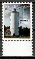 Latvia 2016 Letonia / Lighthouses MNH Faros Leuchttürme / Cu10832  C5 - Faros