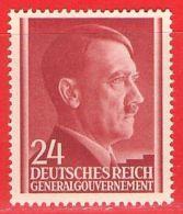 MiNr. 78 Xx Deutschland Besetzungsausgaben II. Weltkrieg Generalgouvernement - Occupation 1938-45