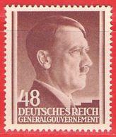 MiNr. 82 Xx Deutschland Besetzungsausgaben II. Weltkrieg Generalgouvernement - Occupation 1938-45