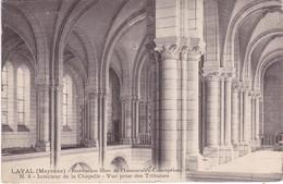 LAVAL - Institution Libre De L'Immaculée Conception - Intérieur De La Chapelle - Vue Prise Des Tribunes - Laval
