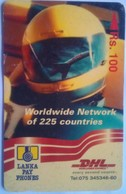 37SRLB DHL 100 Rs - Sri Lanka (Ceylon)