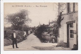 CPA 28 LA PUISAYE Rue Principale - France