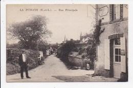 CPA 28 LA PUISAYE Rue Principale - Other Municipalities