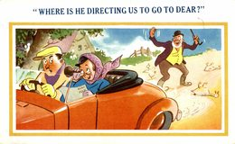 WHERE IS THE DIRECTING US TO GO TO DEAR? - Humor