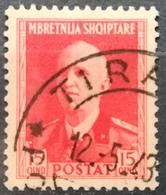 1938 ALBANIA King Vittorio Emanuele - Albanie