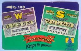 36SRLB Lottery  100 Rs - Sri Lanka (Ceylon)