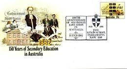 AUSTRALIE. Entier Postal Avec Oblitération 1er Jour De 1982. Mathématiques/Calculatrice. - Sciences