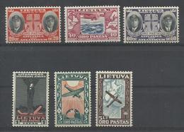 LITUANIA YVERT  AEREO   84/89  MNH  ** - Lituania