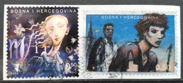 BOSNIA AND HERZEGOVINA Piece Of Letter With Stamps - Bosnië En Herzegovina
