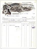 REYT  Fromages Des Montagnes De Salers, Cantal, Laguiole   MAURIAC  (Ain)  Belle Illustration - France