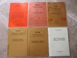 WL ITALIA - AFFRANCATURE MECCANICHE EMA METER AICAM - CATALOGO PUNZONI + PUBBLICAZIONI + 4 ANNUARI 1996 2000 2004 2009 - Affrancature Meccaniche Rosse (EMA)