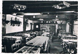 B-6987   WAASMUNSTER : Cafe-Restaurant Lekkerbek - Binnenzicht - Waasmunster