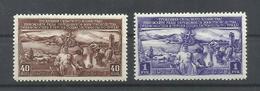 RUSIA   YVERT  1394/95   MH  * - 1923-1991 URSS