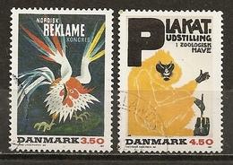 Danemark Denmark 1991 Posters Obl - Gebruikt