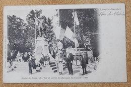 39 Lons Le Saunier - Statue De Rouget De L'isle Et Entrée Du Banquet 1902 - Lons Le Saunier