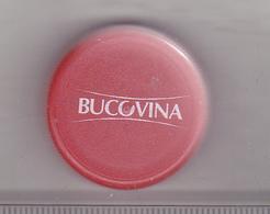 Romania Mineral Water Cap - Plastic Cap - Bucovina - Red - Soda