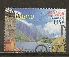 Espagne Spain 2016 Tourisme Avec Bycicle Obl - 1931-Today: 2nd Rep - ... Juan Carlos I