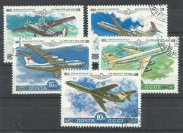 RUSIA   YVERT   AEREO 138/42 - 1923-1991 URSS