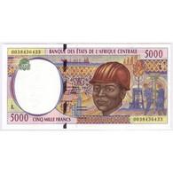 BEAC/GABON - PICK 404 L - 5 000 FRANCS - NON DATE - NEUF - - Gabon
