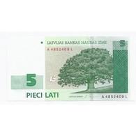 LETTONIE - PICK 43 - 5 LATI 2001 - NEUF - - Lettonie