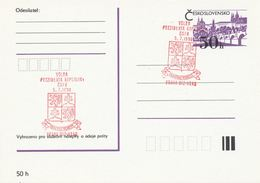I0518 - Tchécoslovaquie (1990) Praha 012: Election Du Président Vaclav Havel De La République Tchécosl. (Veritas Vincit) - Czechoslovakia