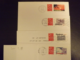 (L2-9) Timbres  PERSONNALISES Marianne Lamouche Sur  4 Lettres  Tres Bon Etat - France