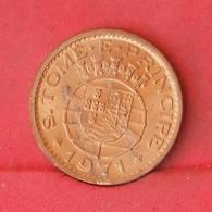 SAINT THOMAS Y PRINCIPE 50 CENTAVOS 1971 -    KM# 17,2 - (Nº27204) - Portugal
