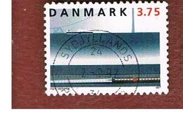 DANIMARCA (DENMARK)  -   SG 1115 -  1997 GREAT BELT BRIDGE: RAILWAY SECTION   - USED ° - Usati