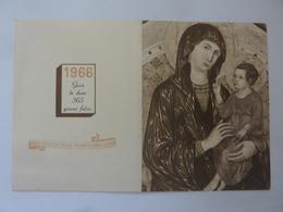 """Calendario Tascabile """"CASA DI REDENZIONE SOCIALE MILANO  NIGUARDA ANNO 1966"""" - Calendriers"""