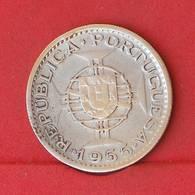 MOZAMBIQUE 20 ESCUDOS 1955 - 10 GRS - 0,720 SILVER   KM# 80 - (Nº27210) - Portugal