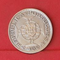 MOZAMBIQUE 20 ESCUDOS 1960 - 10 GRS - 0,720 SILVER   KM# 80 - (Nº27211) - Portugal