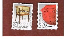 DANIMARCA (DENMARK)  -   SG 1127.1128 -  1997  DANISH DESIGN  - USED ° - Usati
