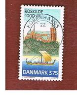 DANIMARCA (DENMARK)  -   SG 1135 -  1998  ROSKILDE MILLENARY             - USED ° - Usati