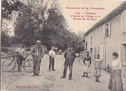SOUVENIRS DE LA FRONTIERE CHAMPEY DOUANES N° 1209 - France
