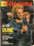 TELERAMA  N° 1830 - Février 1985 - En Couverture : STING Dans DUNE - Fernsehen