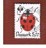 DANIMARCA (DENMARK)  -   SG 1136 -  1998  INSECTS: COCCINELLA SEPTEMPUNCTATA            - USED ° - Usati
