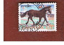 DANIMARCA (DENMARK)  -   SG 1146 -  1998    EUROPA:  HORSE            - USED ° - Danimarca