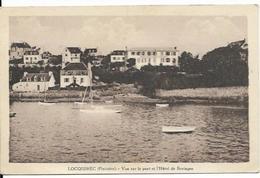LOCQUIREC, Vue Sur Le Port Et Hôtel De Bretagne - Locquirec