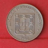 MACAU 1 PATACA 1982 -    KM# 23 - (Nº27219) - Portugal