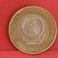 ANGOLA 5 KWANZAS 2012 -    KM# 109 - (Nº27221) - Angola