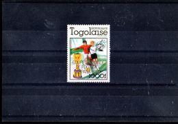 TOGO 1012** SUR LA COUPE DU MONDE EN ESPAGNE - Togo (1960-...)